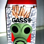 gasso, ontwerp sigarettenpakje