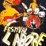 muziekfestivalposter, voor Festival L*abore