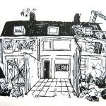 Lastige buren, schaduwopdracht voor Intermediar